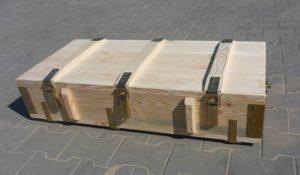 Skrzynie drewniane specjalne